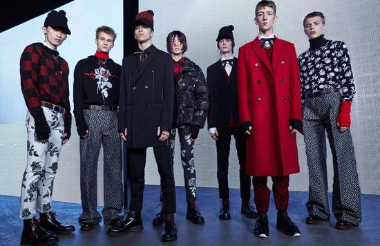 【淘宝贝】Dior Homme 二零一六冬季系列时装秀-香港