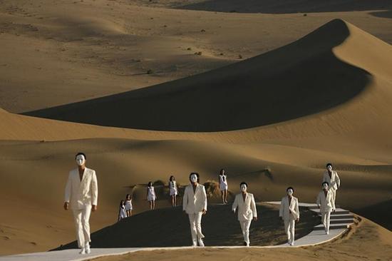 皮尔卡丹的中国秀