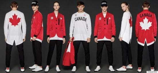 加拿大2016奥运会队服曝光