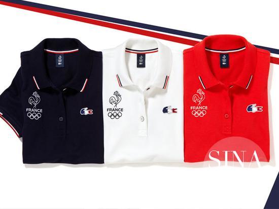 法国体育代表团:Lacoste