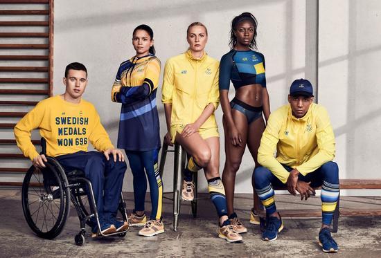 瑞典体育代表团:H&M