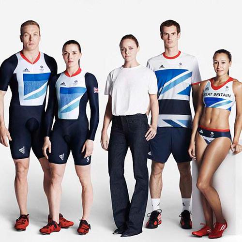 Stella McCartney为英国国家队设计队服