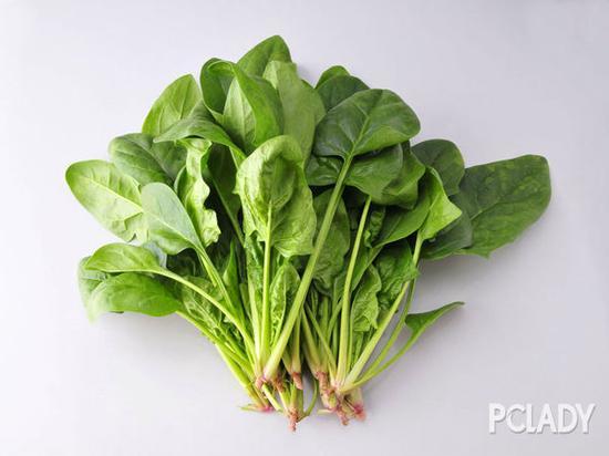 菠菜等绿色蔬菜