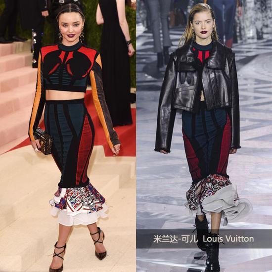组图:米兰达-可儿Louis-Vuitton