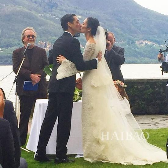 婚礼现场 甜蜜Kiss