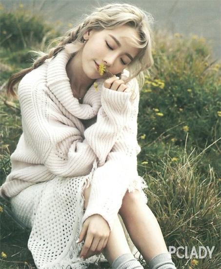 泰妍——美妙森女风