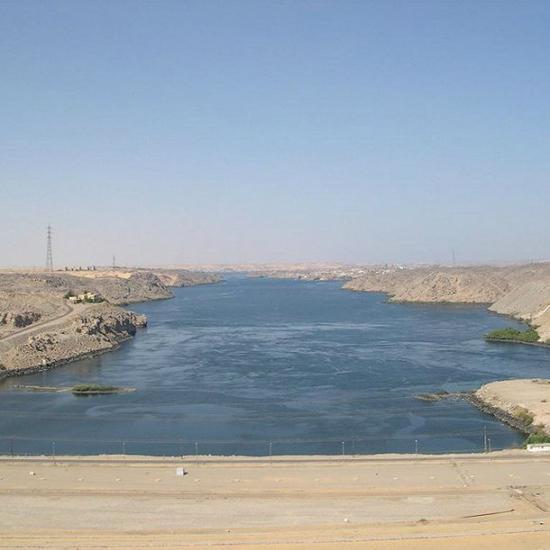 阿斯旺水坝埃及·阿斯旺