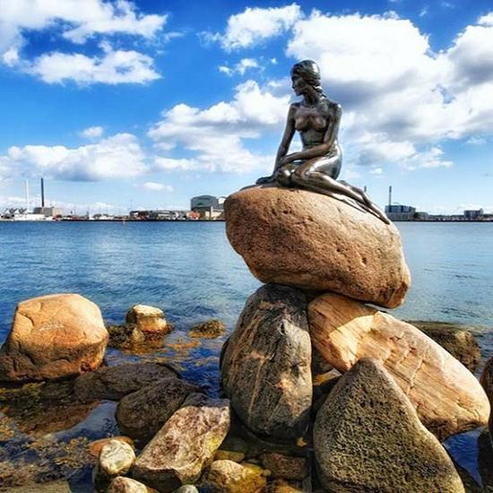 小美人鱼像丹麦·哥本哈根