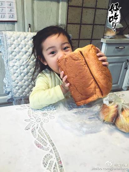 发酵制作的大面包