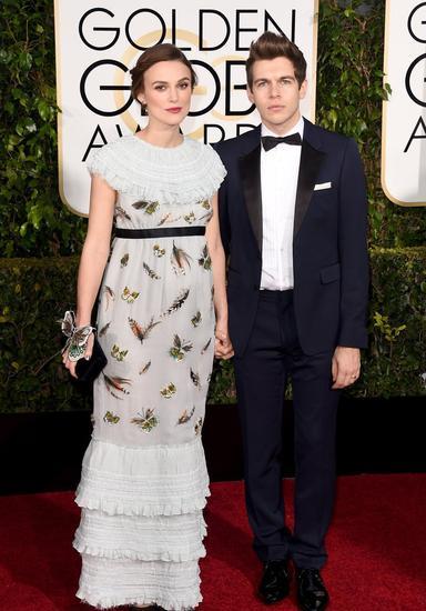 凯拉-奈特莉穿Chanel亮相红毯