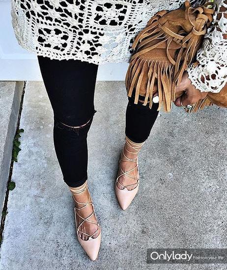 绑带鞋更适合瘦脚
