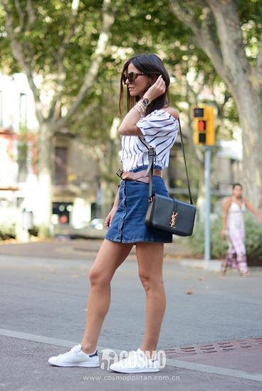 女明星最爱的小白鞋 怎么搭才最时髦