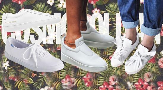 人人都有的小白鞋 到底和什么单品搭配最好看呢?!