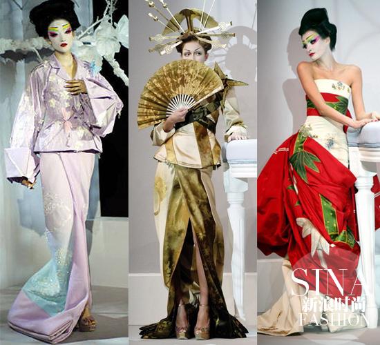 Dior的日式和风