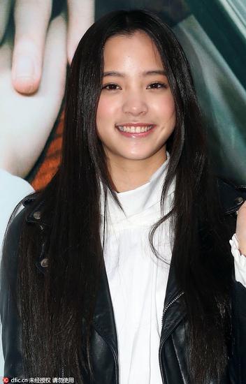 明星代表人物:欧阳娜娜 16岁