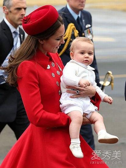 凯特王妃与乔治小王子