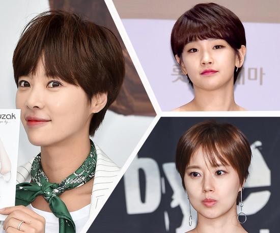 短发能让你美上天!于是这些韩国女星都剪了