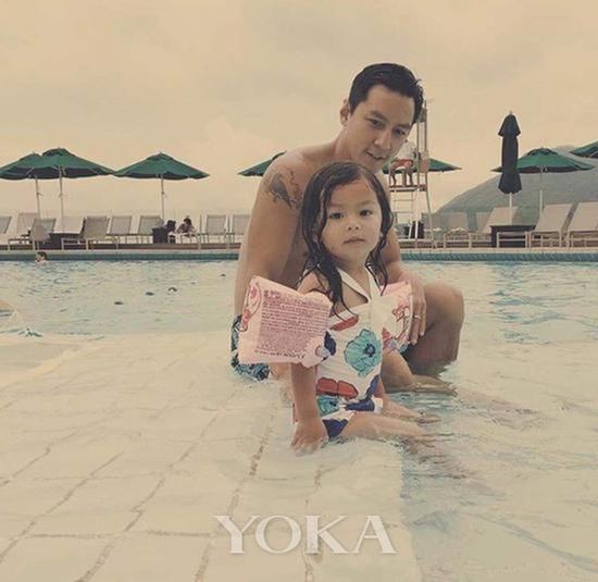 吴彦祖和女儿