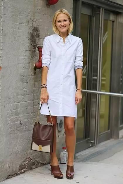 白衬衫裙2