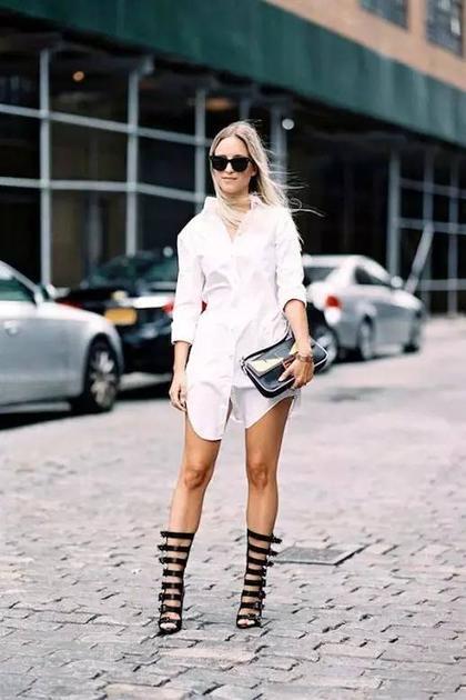 白衬衫裙3