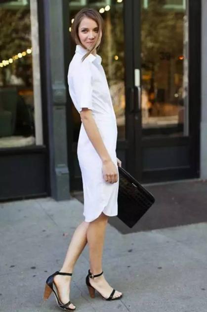 白衬衫裙4