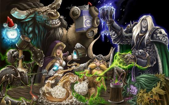十年的时间里,魔兽世界对于玩家已经不仅仅是一个游戏。