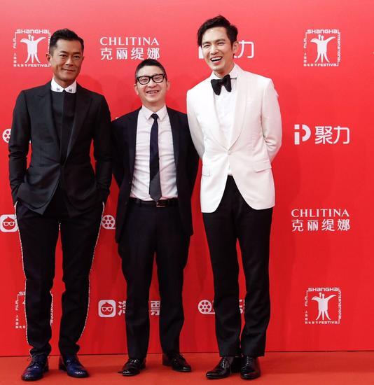 (图片:香港著名演员古天乐及钟汉良)图片