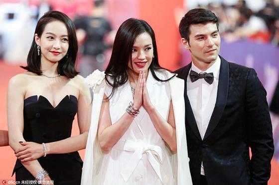 上海国际电影节开幕红毯