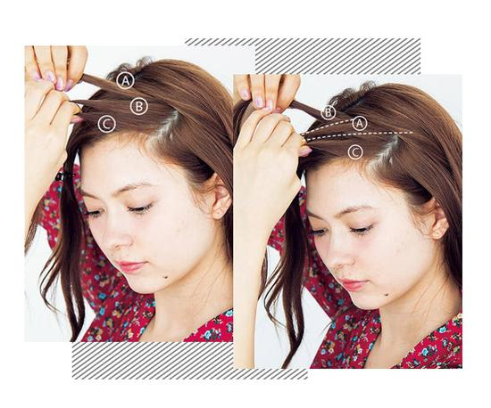 Fashion fish bone braid bangs braided hair tutorial detailed review there are a lot of sister may feel fishbone braid braided hair with bangs look good but every time you want yourself time series do not know where urmus Image collections