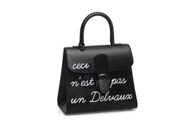 "Delvaux ""Magritte""系列黑色手袋"