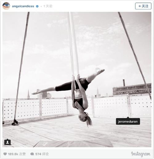 超模Candice Swanepoel