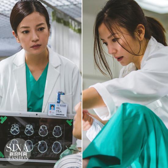 赵薇《三人行》中饰演女医生