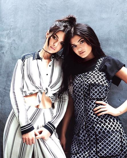 Kendall Jenner &Kylie Jenner