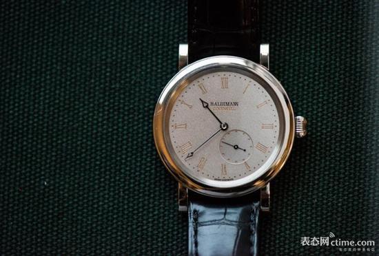 Haldimann H11小三针腕表