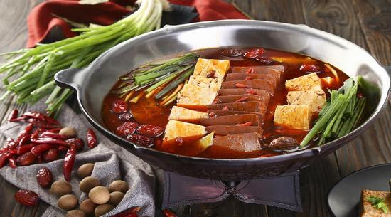 凑凑菜品:台式麻辣锅