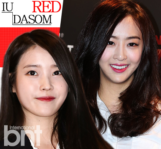 """#IU&DASOM """"更添优雅的红唇"""""""
