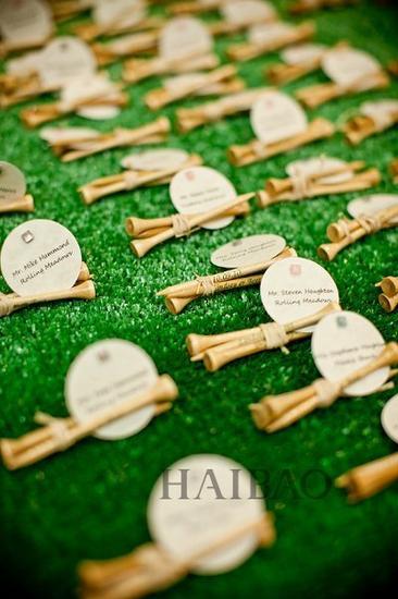 足球主题婚礼--宾客胸花