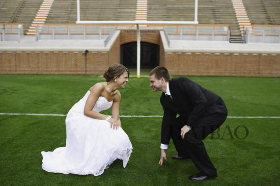 足球主题婚礼