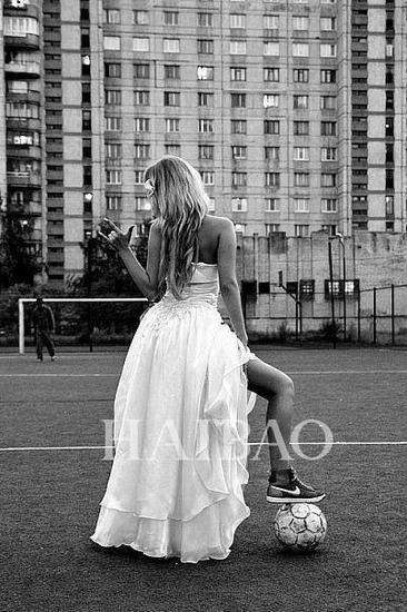 足球主题婚礼--新娘造型