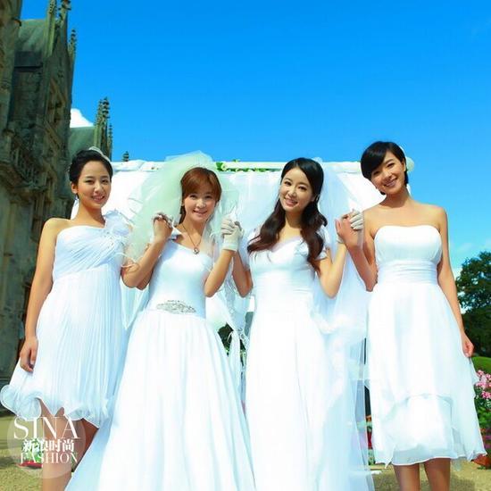 客串《花非花雾非雾》,演的都是新娘!