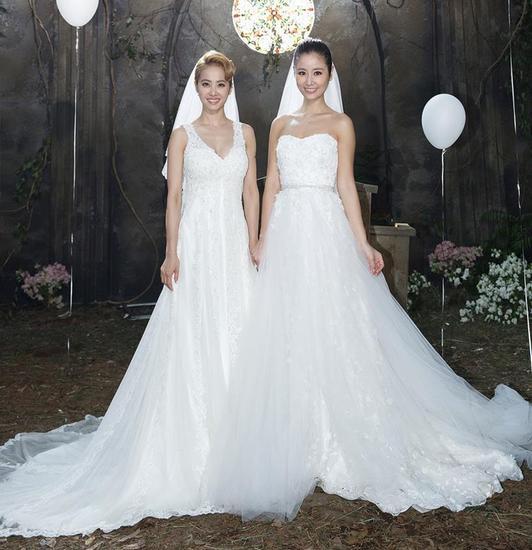 连出演蔡依林《不一样的爱情》MV都在穿婚纱