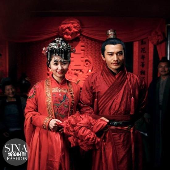 2013年在《精忠岳飞》里还嫁了黄晓明