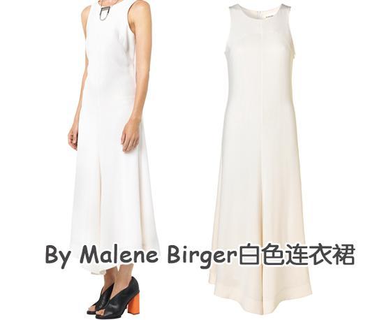 ☆By Malene Birger白色连衣裙
