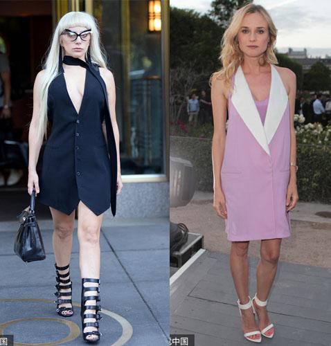 Lady Gaga、Diane Kruger