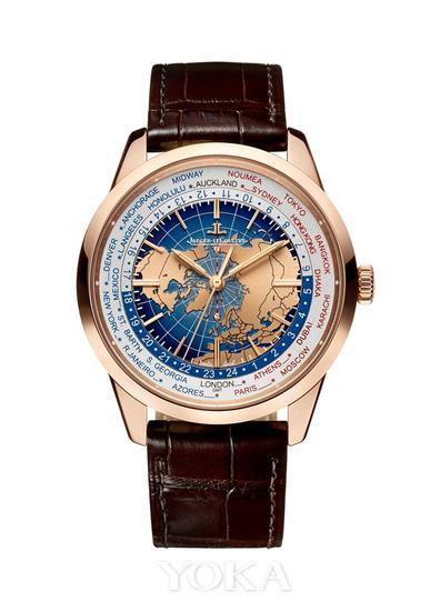 积家Geophysic? Universal Time地球物理天文台系列世界时间腕表