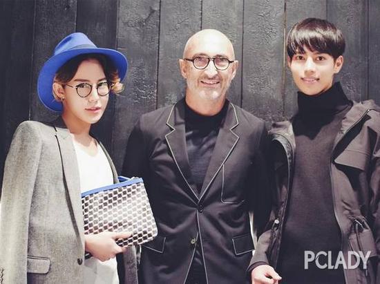 Shouta与法国时尚设计师Pierre Hardy