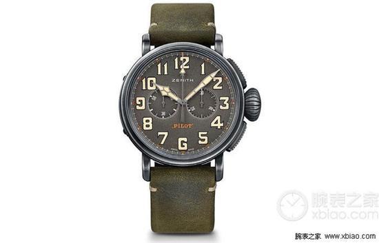 真力时飞行员系列11.2430.4069/21.C773腕表