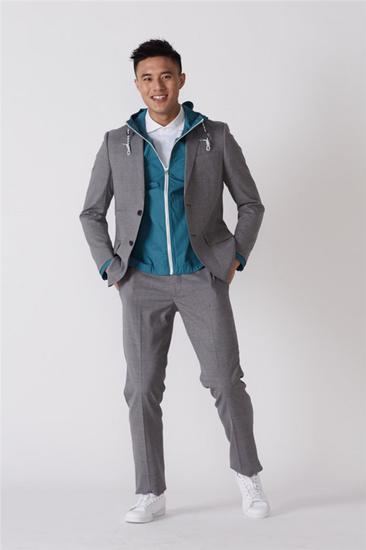 棉毛混纺西装 防风夹克 衬衫领Polo衫 均为 Uniqlo