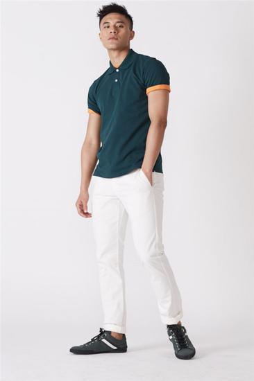 纯棉Polo衫 棉T恤 休闲裤 均为 Uniqlo