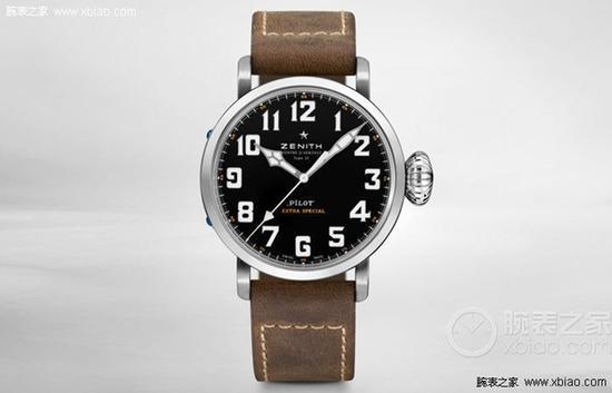 真力时飞行员系列03.2430.3000/21.C738腕表